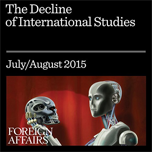 The Decline of International Studies audiobook cover art