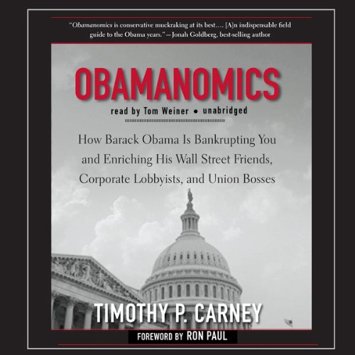 Obamanomics audiobook cover art