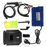 ARC MMA-250Amp Portátil IGBT Inverter Soldadora Soldadora eléctrica Azul y negro