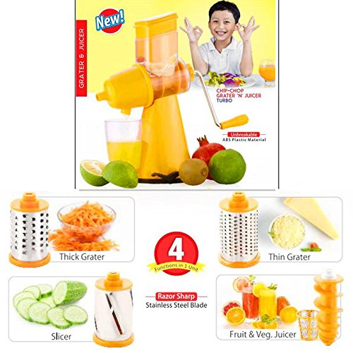 Gadgets Appliances Turbo Chip-Chop Grater