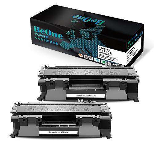BeOne Cartuccia Del Toner HP CF280A 80A 80X CF280X Compatibile Per HP LaserJet Pro 400 M401a M401d M401dn M401dne M401dw M401n M425dn M425dw
