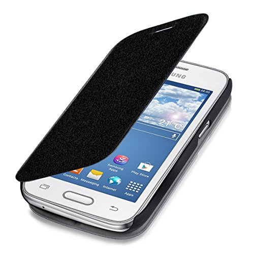 kwmobile Cover Compatibile con Samsung Galaxy Ace 4 (G357h) - Custodia a Libro in Simil Pelle PU - Flip Case Protettiva