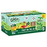 GoGo squeeZ Applesauce on the Go, Variety Pack (Apple Apple/Apple Banana/Apple Mango), 3.2 Ounce (20 Pouches), Gluten Free, Vegan Friendly, Unsweetened, Recloseable, BPA Free Pouches