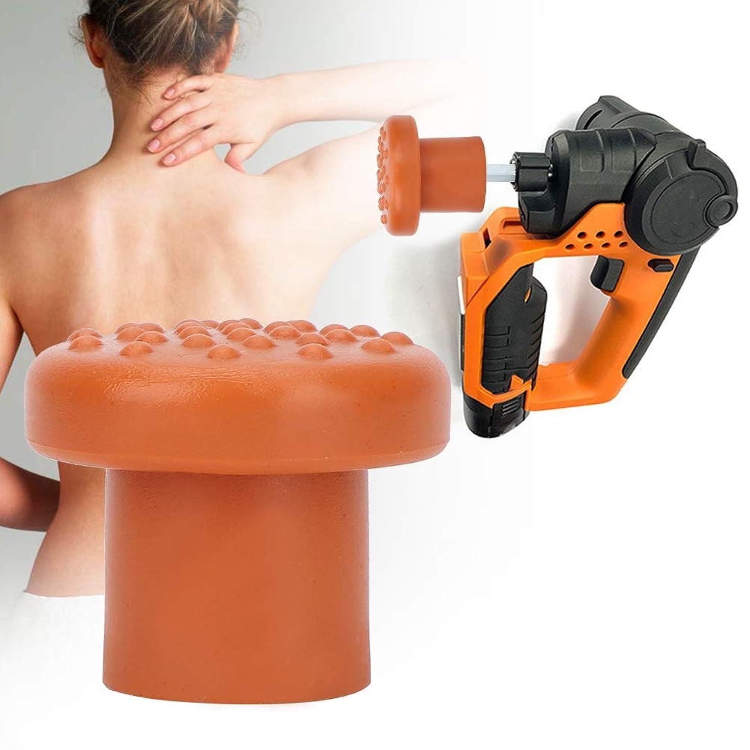 伸ばす破壊する病的Fasciaマッサージャーアクセサリー用交換式マッサージヘッド(12)