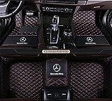 INN Fit for Mercedes-Benz E Series E200 E250 E300 E350 E400 E500 E550 E63 E63AMG w211 w212 w213 c207 c238 2003-2019 Sedan Convertible Coupe Leather Auto Mats Luxury Leather Waterproof Floor mats Logo