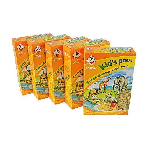 Kid's Pasta Safari-Nudeln 5er Pack (5 x 300 g)