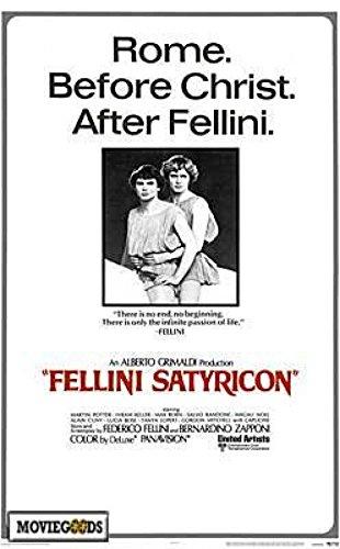 Satyricon Movie Poster (68,58 x 101,60 cm)
