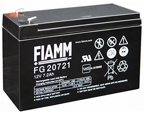 Batteria Fiamm al Piombo 12V 7,2Ah Faston 4,8mm