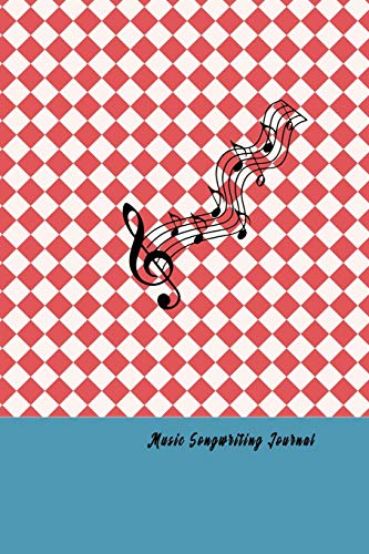 "Music Songwriting Journal: lank Guitar Tablature: Music Sheet Paper Song writers and Musicians Journal for Composing Book Size 6.14""x 9.21"" (100 pages)"