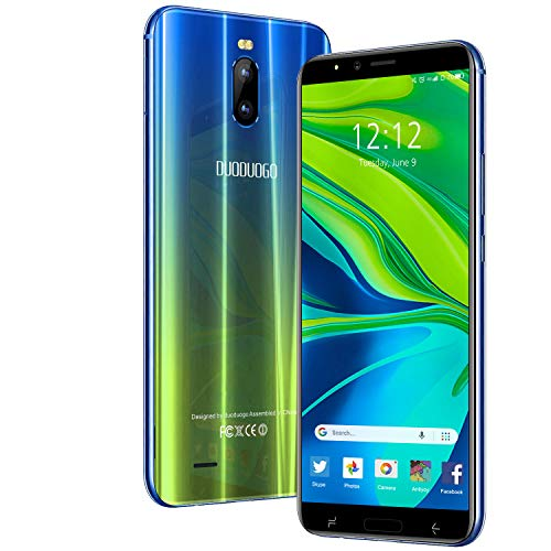 "Smartphone Offerta del Giorno 4G, 6.0""HD+ Android 9.0 3GB RAM +16GB ROM/128GB TF Cellulari Offerte 4800mAh Dual SIM 8MP Fotocamera Face ID Telefonia Mobile DUODUOGO J6+ (Oro)"