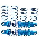 DAUERHAFT Amortiguador de Metal RC Amortiguador de Coche RC Conveniente Azul para TRX-4 D90 1/10 Escala RC Crawler Car para Scx10(70mm)