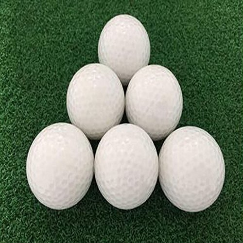 Leuchtende Golfbälle, 6 Stück Golf Übungsbälle, LED Leuchte Golf, Elektronische LED Leuchtgolfbälle für Nachttraining Mit Großer Reichweite und Distanzschüssen (Blaulicht) (Grünes Licht) - 2