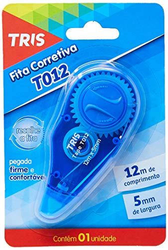 Fita Corretiva, Tris, 7897476685496, Azul