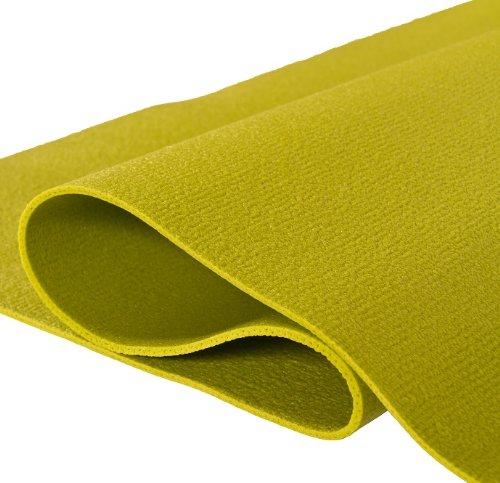 Yogamatte 2.Wahl PVC Green 80cm breit, grün