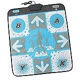 YUHT Alfombrilla de Baile Alfombrilla Antideslizante Alfombra para Nintendo Wii Gamecube Consola NGC Dance Revolution Videojuegos DDR Alfombrilla de Baile