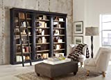 Martin Furniture Toulouse 3 Bookcase Wall, Brown