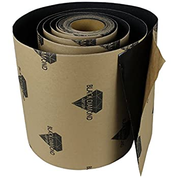 Anti Slip Traction Tape Black Roll Safety Non Skid Self Adhesive Silicon Carbide Sticky Grip Safe Grit 12  x 5  10  20  30  40  50   12  x 10  Without Tool