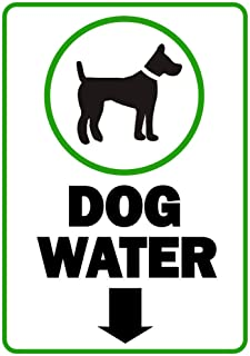 Best dog water sign Reviews