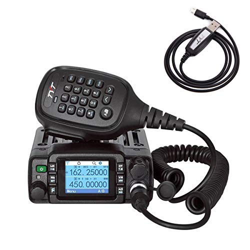 TYT TH-8600 25W Dual Band Mini Car Mobile Transceiver (IP67 Waterproof)
