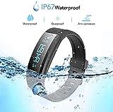 Zoom IMG-1 agptek fitness tracker braccialetto bluetooth
