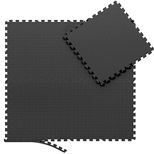 Esterilla Puzzle para Suelos de Gimnasio y Fitness | Set de Protección...