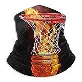 HRFKJYXG Balle de Sport Flamboyant Basket-Ball en Microfibre Tube Cou...