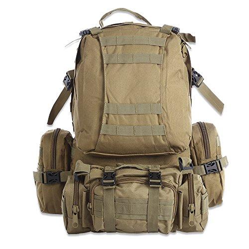 Sac à dos de multiples fonctions pour camouflage Sac de de l'escalade à pied de camping à l'extérieur