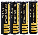Best 18650 Battery Button Tops - 18650 Battery 3.7V 4000mAh Rechargeable Battery 18650 Li-ion Review