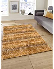 Story at Home Accent Collection Carpet, AC1406, Polyester, Brown, 91 x 152 cm