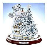 MXJSUA 5D Kits de taladros Redondos de Pintura de Diamantes para Adultos Artesanía pegada Artesanía para el hogar Decoración de la Pared Caja de música de Navidad 30x30 cm