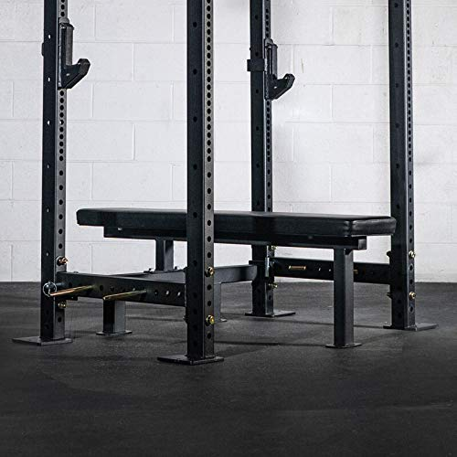 Titan Fitness Drop-in Power Rack Bench Competition Height