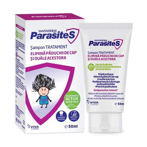 SantaDerm ParasiteS Champú repelente y prevención de piojos