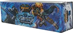 Brand new in original factory-sealed packaging! 1 Reusable Storage Box..Card Dividers to be Used with your Storage Box 1 Icecrown Playmat..1 Icecrown Deck Box 6 Icecrown Boosters..1 Icecrown Pocket Guide..5 Random Foil Heroes from Icecrowwn..and 1 Co...