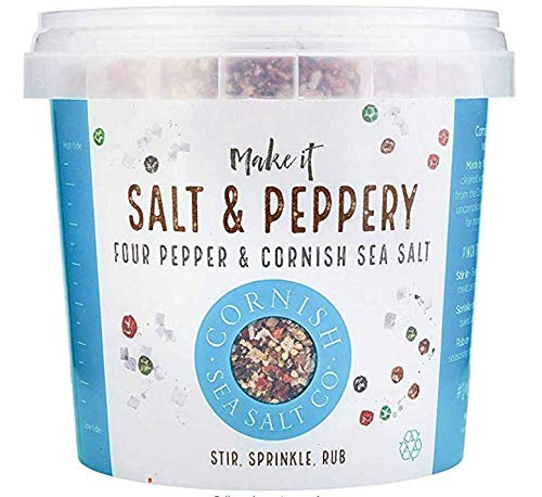 Cornish Salt & Luxury Pepper Gewürzsalz mit Pfeffer 185g