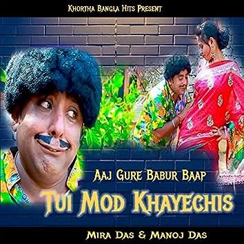 Aaj Gure Babur Baap Tui Mod Khayechis