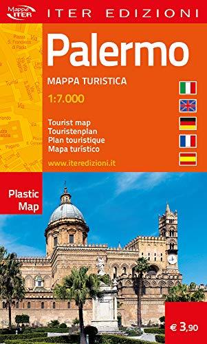 Palermo. Mappa turistica 1:7.000. Ediz. multilingue (Plastic map)