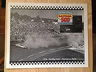 DAYTONA 500 1976 THE BIG FINISH PEARSON VS PETTY POSTER