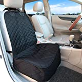 Vailge Front Seat Cover for Dogs, 100% Waterproof Dog Seat Cover, Nonslip Scratch