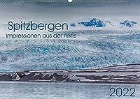 Spitzbergen - Impressionen aus der Arktis (Wandkalender 2022 DIN A2 quer): Landschaften, Tiere und Lichtstimmungen (Monatskalender, 14 Seiten )