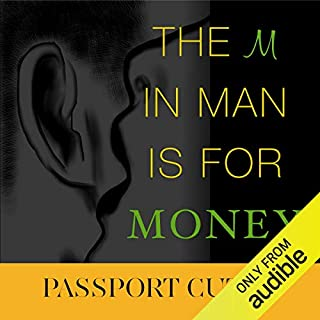 The M in Man Is for Money audiobook cover art