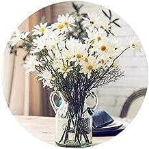 Artfen 10 Pack Artificial Daisy Flowers Flower Arrangements for Home Hotel Office Wedding Party Garden Craft Art Decor Each Approx 21
