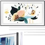 SAMSUNG QN32LS03TB The Frame 3.0 32-inch QLED Smart TV (2020 Model) Bundle 32-inch The Frame Customizable Bezel - White