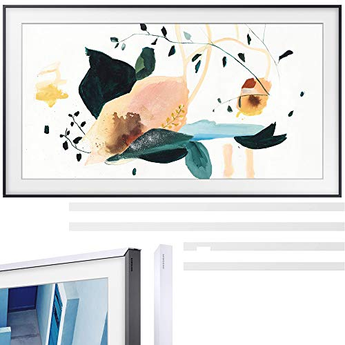 Samsung QN32LS03TB The Frame 3.0 32-inch QLED Smart TV (2020 Model) Bundle with Samsung 32-inch The Frame Customizable Bezel - White