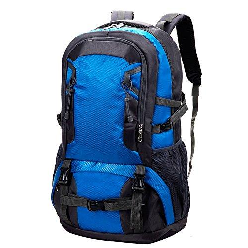XiaoMin Sports de Plein air Randonnée Sac à Dos Grande capacité Léger Imperméable Voyage Randonnée Sac de Sport - // (Color : Blue, Size : 40L)