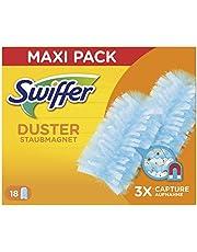 Swiffer Dusters - Recambios para plumero, capturan hasta 3 veces más polvo y pelo que un plumero tradicional, 18 unidades