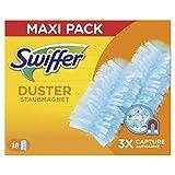 Swiffer Duster Lot de 18 recharges pour plumeau Capture et retient jusqu'à 3 fois plus de poussière et de poils par rapport à un plumeau traditionnel