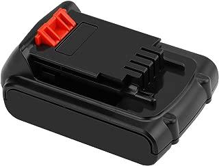 Creabest Max 20v 2500mAh Lithium-Ion Replacement Battery for Black&Decker LBXR LBXR20 LBX20 LB20 LBXR2020-OPE LBXR20B-2 LB2X4020-2 LBX4020 LDX120 LSW20 LHT2220 LST220 LLP120