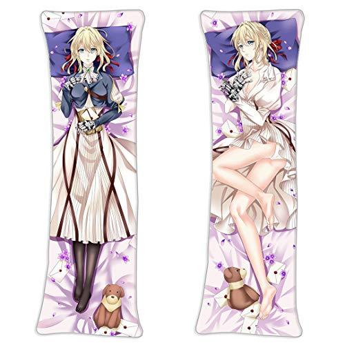 F Zonn Violet Evergarden Violet Evergarden Anime Body Pillowcase 2 Way Tricot 160 x 50cm(62.9in x 19.6in) Cosplay Anime Otaku Body Pillow Case Cover
