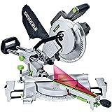 Genesis GMSDR1015LC 15 Amp 10' Sliding Compound Miter Saw with Laser Light, Electric Brake, Spindle...