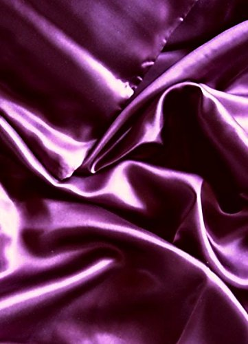 Why Should You Buy Feeling Pampered 4 Pc 100% Mulberry Silk Charmeuse Sheet Set Full Size Plum Purpl...